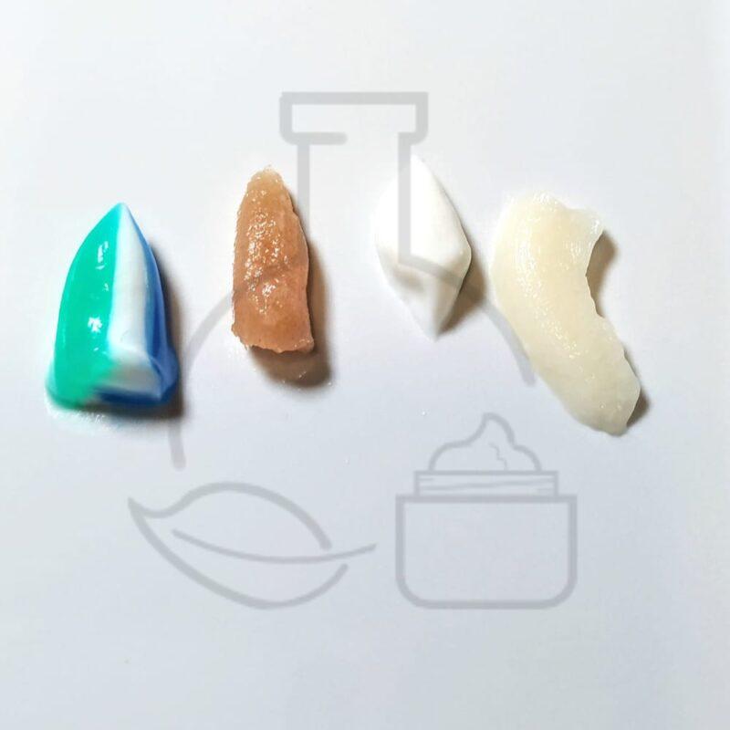 texturas dentífrico con polímeros